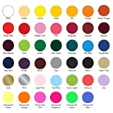 Siser EASYWEED Heat Transfer Vinyl for Textile (Choose from 38 Colors EASYWEED and 6 NEON Colors - UP to 5 Yard - 15