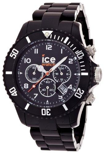 Ice-Watch Men'S Ch.Bk.B.P.09 Chrono Collection Black Dial Black Strap Watch