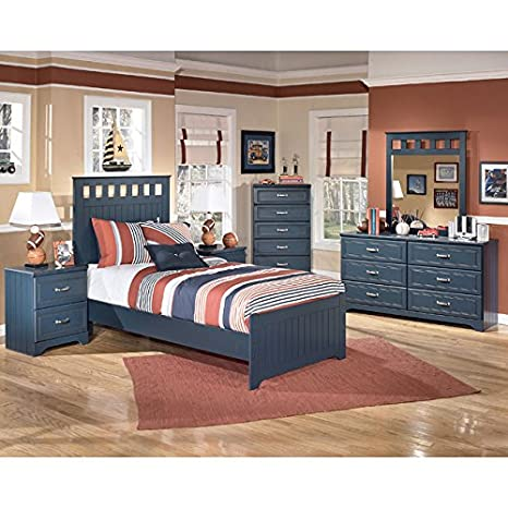 Leo Panel Bedroom Set Full