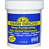 Amish Origins Deep Penetrating Pain Relief Ointment, 3.5oz