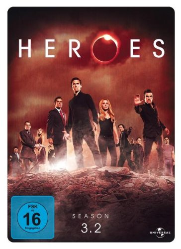Heroes - Season 3.2 (3 DVDs, limited Steelbook)