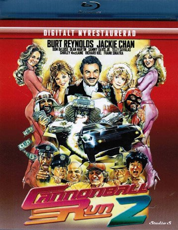 Cannonball Run 2 ( Cannonball Run II ) ( Cannon ball Run Two ) [ Blu-Ray, Reg.A/B/C Import - Sweden ]