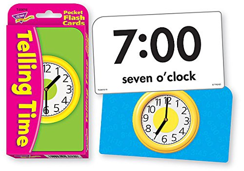 Telling Time Pocket Flash Cards - 1