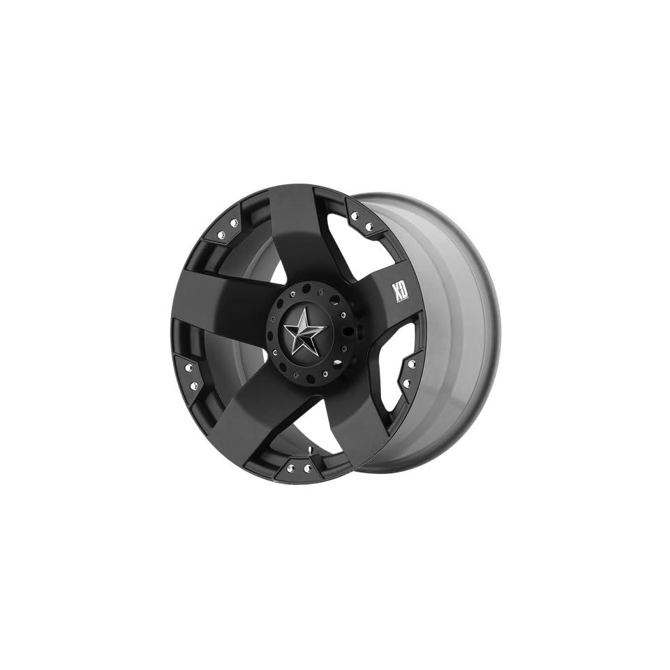 20x8.5 KMC XD Rockstar (Matte Black) Wheels/Rims 5x114.3/120 (XD77528517335)