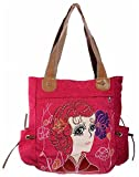 Sakushi Women's Handbag (Purple, RM 00027 A)