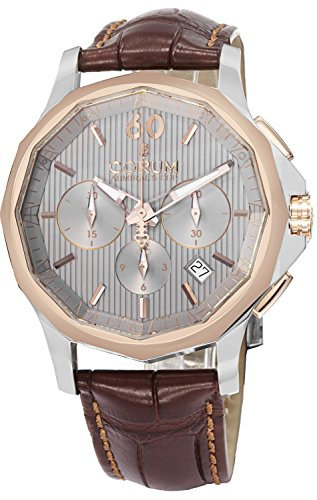 Corum 984.101.24-OF02 FH11 42mm Automatic Stainless Steel Case Brown Leather Anti-Reflective Sapphire Men's Watch