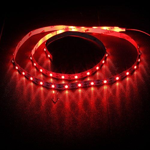 100 centimetri Non-Impermeabile Striscia LED TV LED Light Kit Sfondo taccuino del computer portatile di illuminazione con cavo USB 60PCS LED rossi
