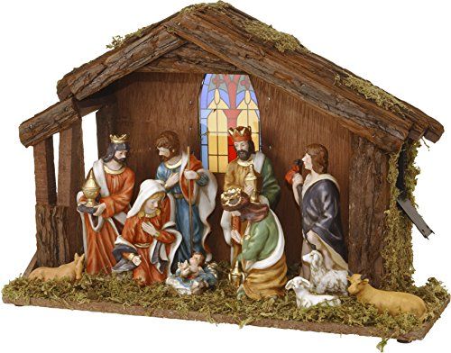 Home&Style 463327 Weihnachtskrippe