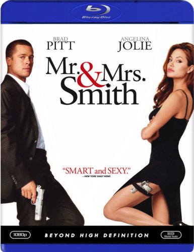 Cover art for  Mr. & Mrs. Smith [Blu-ray]