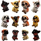 子犬 ミニ フィギュア 置物 12種 セット
