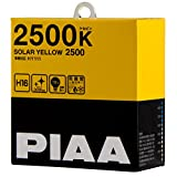 PIAA ( ピア ) ハロゲンバルブ 【ソーラーイエロー 2500K】 H16 12V19W 2個入り HY111