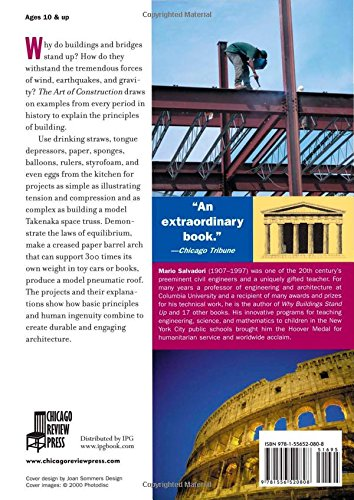 Art of Construction: Projects and Principles for Beginning Engineers and Architects (Ziggurat Book)