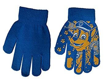 Amazon.com: Nickelodeon Paw Patrol Marshall Blue Gloves