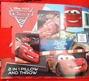 Disney/Pixar Disney Pixar Cars 2 Ka Ciao 2 in 1 Pillow and Throw at Sears.com