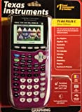 Texas Instruments TI 84 Plus Pink C Silver Edition Graphing Calculator Full Color Display