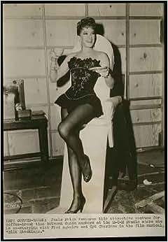 """Vintage Original Janis Paige """"Silk Stockings"""" Cheesecake Pinup"""