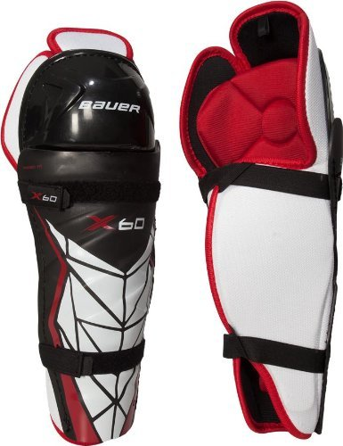 Bauer Junior Vapor X60 Shin Guard, 10
