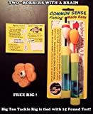 Big Ten Tackle's - 2 Bobbers with a Brain Fishing Bobbers