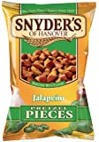 Snyder's of Hanover Jalapeno Pretzel Pieces, 3.5 Ounce (Pack of 48)