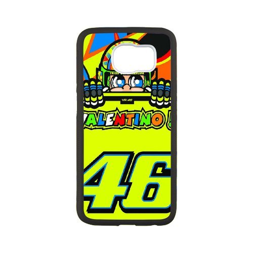 Samsung Galaxy S6 Phone Case Valentino Rossi VR46 Moto GP Logo 46 WE734554