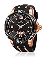 Joshua & Sons Reloj de cuarzo Man JX110BKR 53 mm