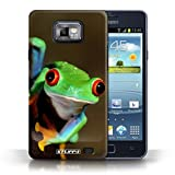 STUFF4 Phone Case / Cover for Samsung Galaxy S2/SII / Frog Design / Wildlife Animals Collection