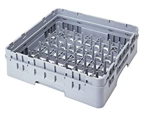 Cambro PR59500-151 Polypropylene Camrack Dishwashing Peg Rack with 1-Extender, 5 by 9-Inch, Soft Gray by food service warehouse
