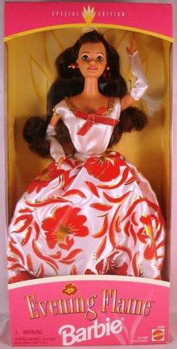 Evening Flame Barbie 1995 als Weihnachtsgeschenk