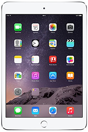 Apple iPad Mini3 WIFI 64GB Silver, MGGT2KN_A