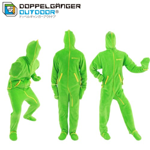 DOPPELGANGER(ドッペルギャンガー) アウトドア 人型寝袋フリース HF1-177 Mサイズ