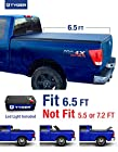 TYGER Tri-Fold Pickup Tonneau Cover Fits 04-15 Nissan Titan (with/without Utility Track) 6.5 feet (78 inch) Box Trifold Truck Cargo Bed Tonno Cover (NOT For Stepside)