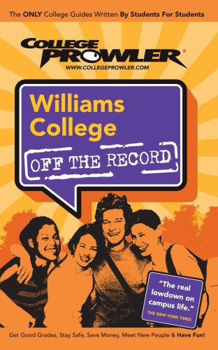 Williams College: Off The Record - College Prowler front-704031