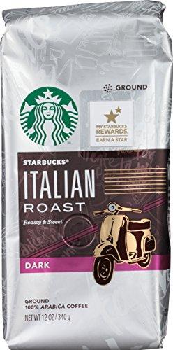 Starbucks Italian Roast Ground Coffee, 12 Ounce (Starbucks Ground Coffee Roast compare prices)