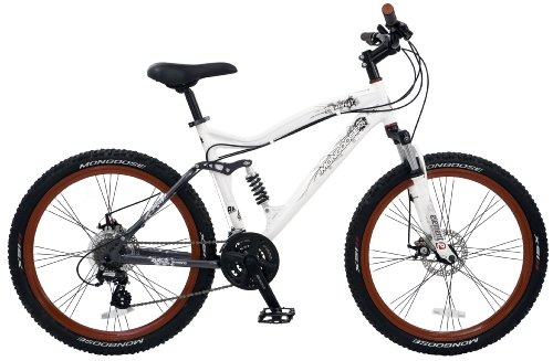 Mongoose Status 3.0 Dual-Suspension Mountain Bike (26-Inch Wheels)
