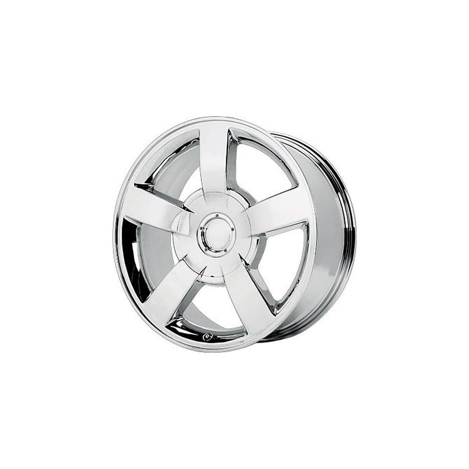 Wheel Replicas V1130 20 Chrome Wheel / Rim 6x5.5 with a 22mm Offset and a 78.1 Hub Bore. Partnumber V1130 2858C
