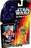 starwars The Power Of The Force (c-3po Realistic Metalized Body!)