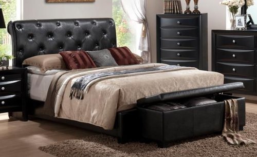 Leather Beds For Sale 5617 front