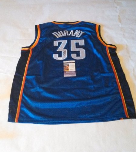Kevin Durant Oklahoma City Oklahoma City Thunder Jersey Autographed w/ JSA Coa at Amazon.com