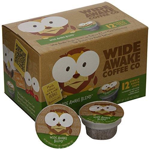 Wide Awake Coffee Single serve cups for Keurig