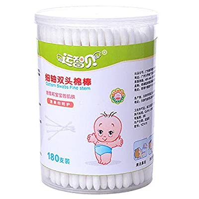 Lusee® 180 Pcs Baby Safety Cotton Buds Bud Earwax Remover Picks
