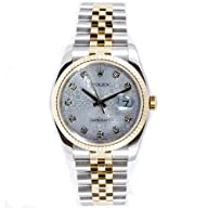 Rolex Mens New Style Heavy Band Stain…