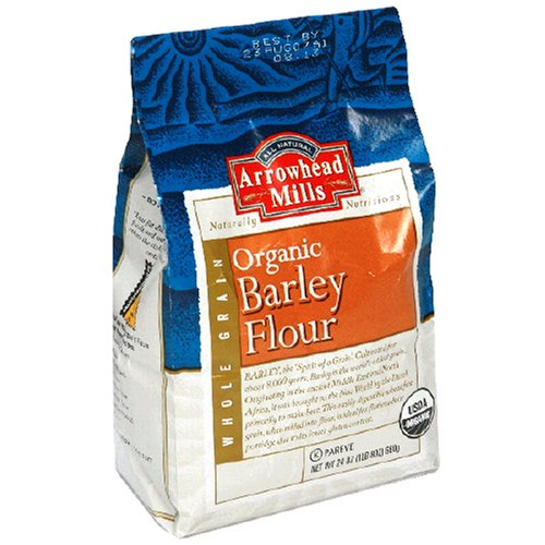 Arrowhead Mills Organic Barley Flour, 24 Ounce Bags (Pack of 6)