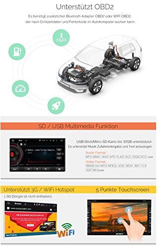 PUMPKIN-695-2-Din-Android-51-Autoradio-DVD-Player-GPS-Navigation-Untersttzt-Bluetooth-OBD2-Wifi-Dashcam-Universal-mit-Rckfahrkamera