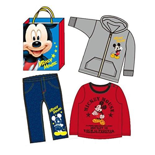 【2015年福袋】【Disney】ミッキーマウス パーカー、トレーナー、パンツが入る3点入り福袋【319f3】95cm ワンカラー