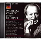 Chopin, F.: Piano Music (Kempff) (1958)
