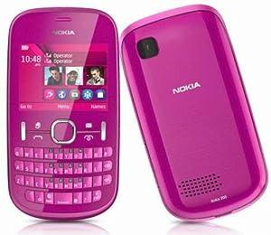Nokia Asha 201 Téléphone portable GSM/EDGE Bluetooth Rose