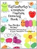 img - for Ed Emberleys Complete Funprint Drawing Book by Emberley, Ed [LB Kids,2002] (Paperback) book / textbook / text book