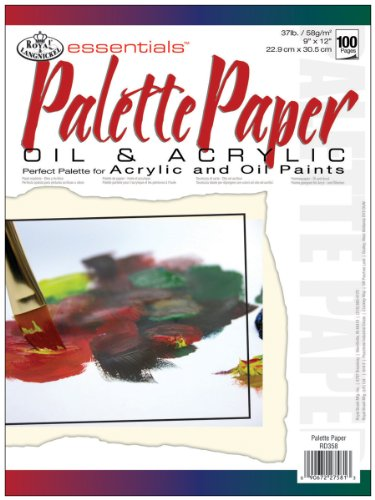 Royal Langnickel 100-Sheet Palette Essentials Artist Paper Pad, 9-Inch by 12-Inch