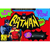 Batman Collection (1968) - Die komplette Serie + Batmobil (exklusiv bei Amazon.de) [Blu-ray] [Limited Collector's Edition]