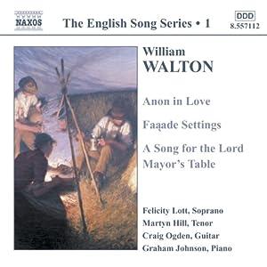The English Song Series 1: William Walton